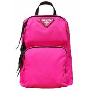 PRADA Pink Tessuto Nylon Crossbody Bag NWT